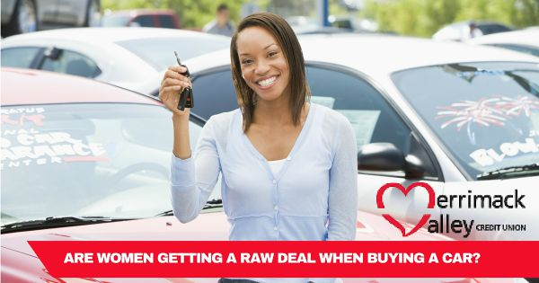 women buying cars