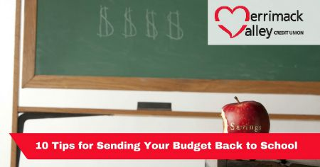 budgeting back to school