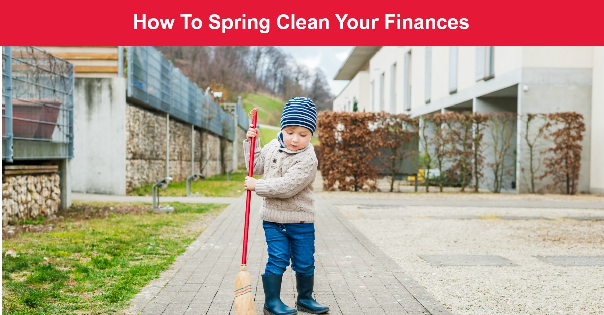 spring cleaning finances