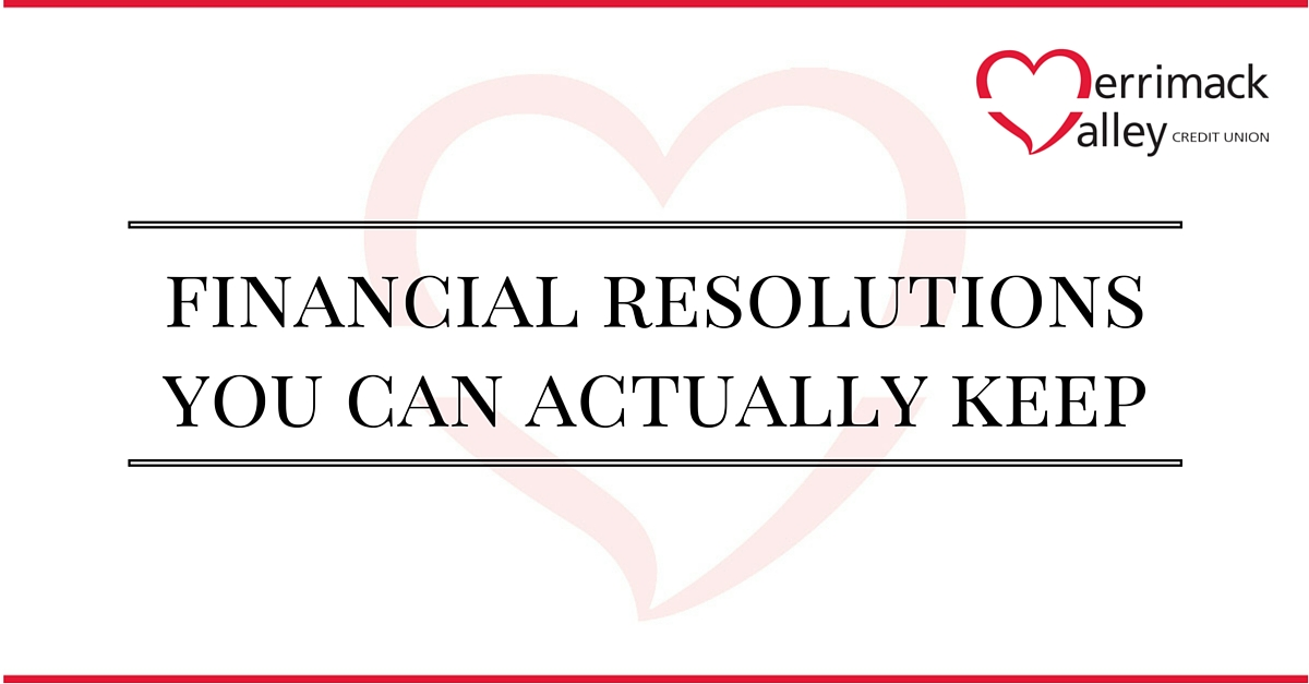 2016 financial resolutions