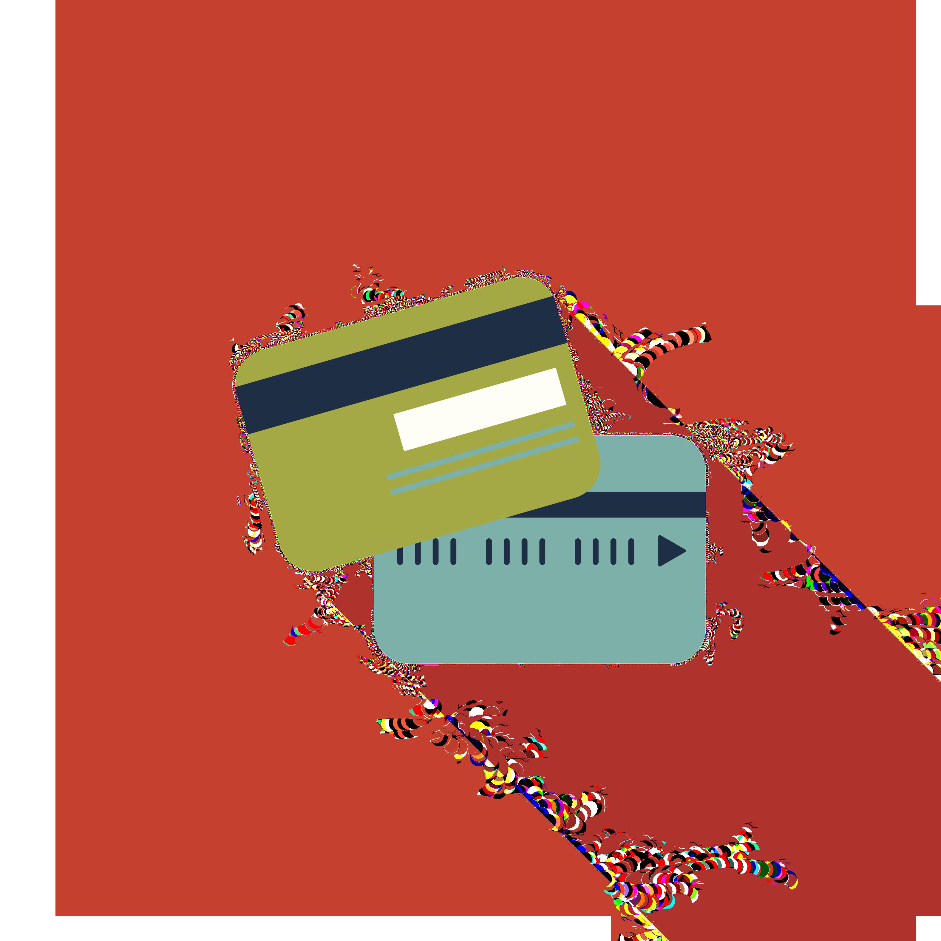 ... credit cards ...